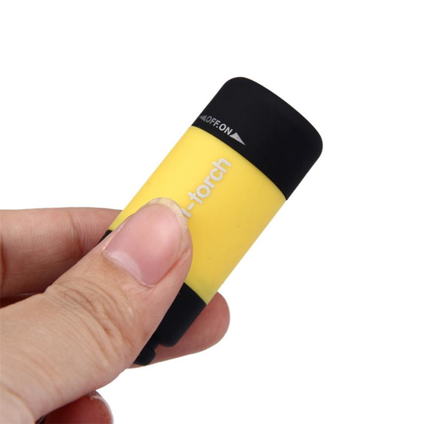 Dropshiping Mini-Torch 0.3W 25Lum USB Rechargeable LED Torch Lamp Flashlight Keychain linternas led recargable