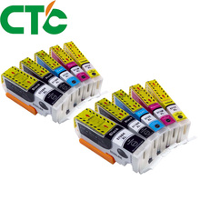 10 PCS PGI 570 571XL Ink Cartridge Compatible for Canon PIXMA MG5750 MG5751 MG5752 MG6850 MG6853 TS6050 6051 6052 5050 5051 5052