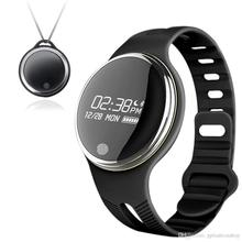 IP67 professional waterproof E07 sports bracelet anti-lost smart pedometer call reminder watch luxury mens