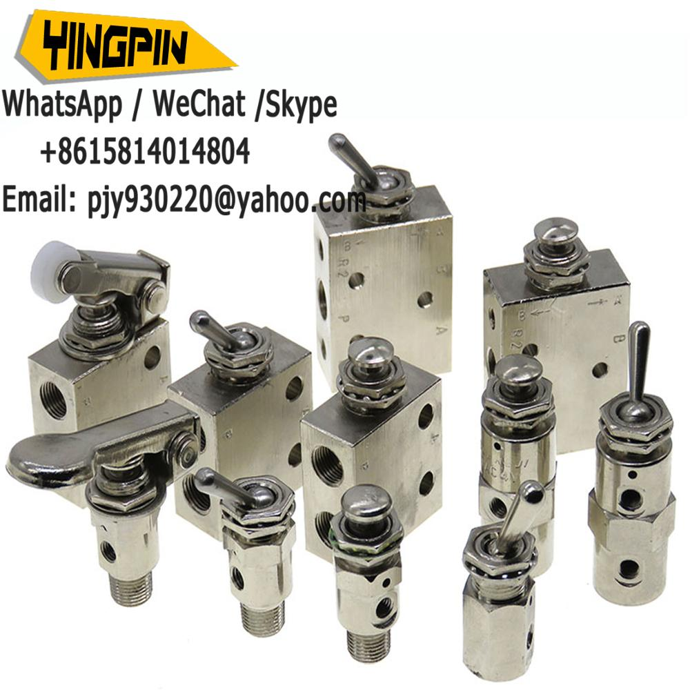 1 Stück Hl2301 Mechanische Ventil 3 Position 2 Port Kippschalter Ventil Pneumatische Mechanische Ventil Ventil De Kommutierung Schakelklep Sanitär Heimwerker