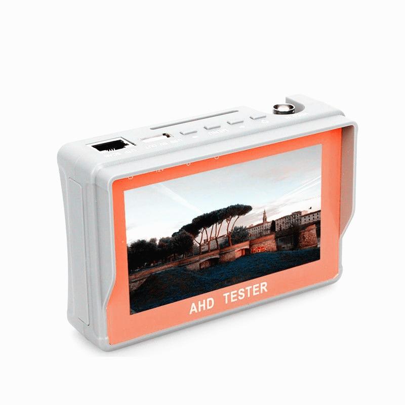 4.3 Inch HD AHD CCTV Tester Monitor AHD 1080P Analog Camera Testing PTZ UTP Cable Tester 12V1A Output4.3 Inch HD AHD CCTV Tester Monitor AHD 1080P Analog Camera Testing PTZ UTP Cable Tester 12V1A Output
