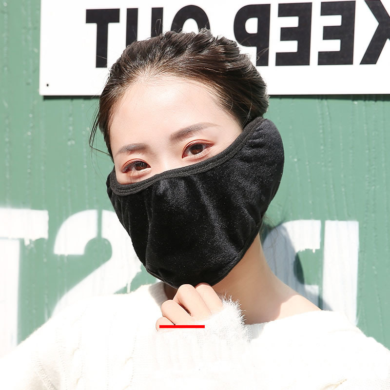 New Winter Warm Outdoor Protective Mask With Ear Protector Thermal Mask For Work Safety Riding Hiking Fishing Face Protection tp link tl sg1024