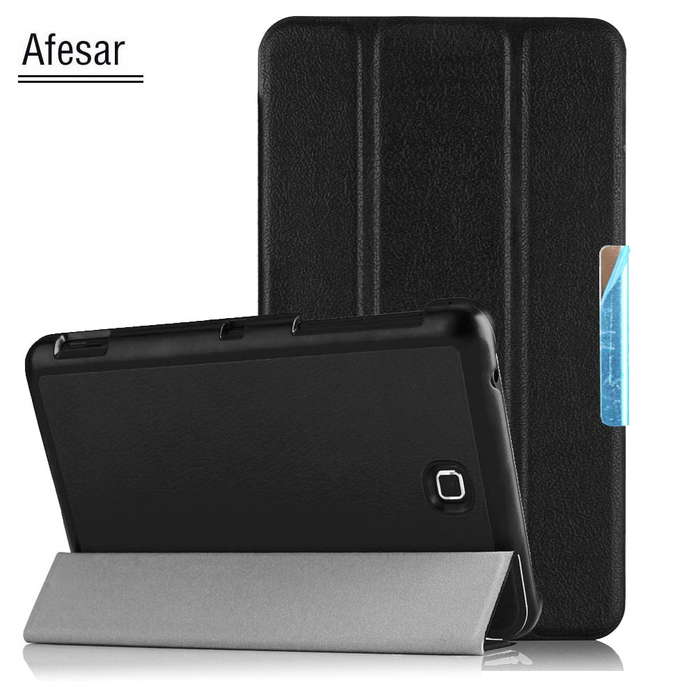 Afesar 7.0 inch Tab 4 T230 T231 T235 Pu leather Smart Case for Samsung SM-T239 Tablet Cover magnetic Stand Flip book Cover 7.0 cartoon painted flip silicon leather case for samsung galaxy tab 4 7 0 t230 t231 t235 sm t230 case cover tablet funda shell
