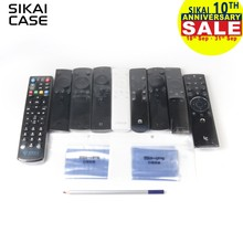 10pcs SIKAI Heat Shrink Film For Apple Samsung LG TV Air-Conditioner Remote Control Cover Heat Shrink Film For TV Remote Cover(China)