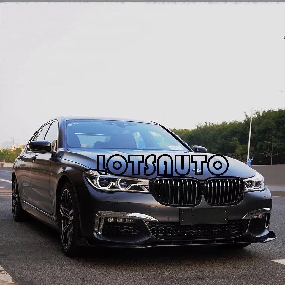Nouvelle Mode 16-18 G11 G12 725d 730d 740e 740i 740li 750d 750i 750li M760li OEM Avant En Fiber De Carbone POUR BMW M760 pare-chocs avant