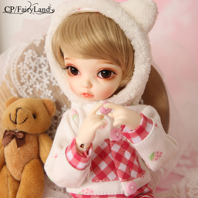 BJD SD Dolls Fairyland Littlefee Bisou Fullset Package 1/6 Resin Model Girls YoSD Bid Kid Dollmore Napi