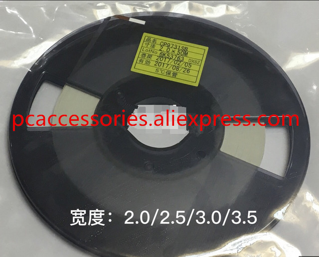 Original CP9731SB W1.0mm L50m 1.0MM*50M ACF Conductive Film Anisotropic Film Adhesive For Lcd Repair On FPC To PCB