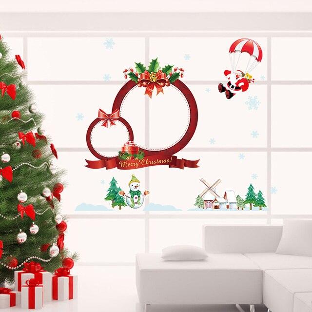 Frohe Weihnachten Dekoration Neujahr Party Decor Schneemann ...