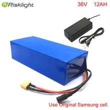36В 12Ач литий-ионный аккумулятор 250 Вт 500 Вт ebike аккумулятор для 36 в 500 Вт 8fun bafang BBS01 среднеразмерный мотор crank drive ebike батарея