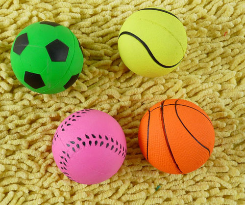 3008# Pet Product Dog Supplies Dog Toy Pet Toy Resistance Bite Elastic Ball Hot Sale 1PC