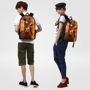 Image 5 - Dispalang Fashion School Backpack Fox Printing Women Children School Bag Kids Back Pack Mens Knapsack Travel Bags for Teenagers