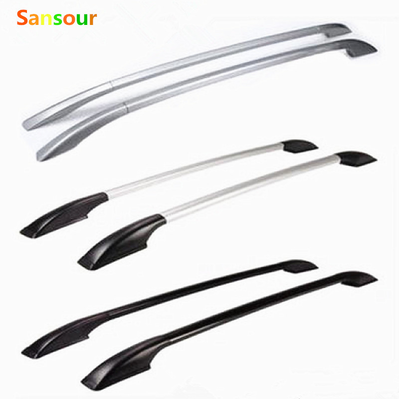 Sansour Top Roof Rails Rack Bar baggage Luggage Carrier Bars For Mazda CX-5 CX5 2013 2014 2015 2016 roof rails bar luggage carrier rack bars fit for nissan dualis qashqai j11 2014 2015 2016