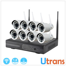 CCTV Wifi Digicam System 8CH Plug and Play Home Maintain 720P HD Onvif NVR Equipment Cell Telephone View Night time Imaginative and prescient Wi-fi Digicam Equipment