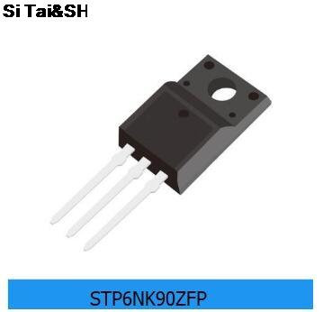 10PCS STP6NK90ZFP P6NK90ZFP NTO-220F 900V6A  Integrated Circuit