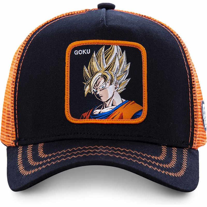 Nuovo di Marca Goku Super 12 Stili di Dragon Ball di Snapback Berretto Da Baseball del Cotone Delle Donne Degli Uomini di Hip Hop Papà Maglia Cappello Trucker cappello Dropshipping