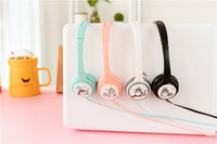Good Gift Cartoon Earphone Wired 3 5mm Plug Headphones For MP3 MP4 For Iphone Samsung Xiaomi