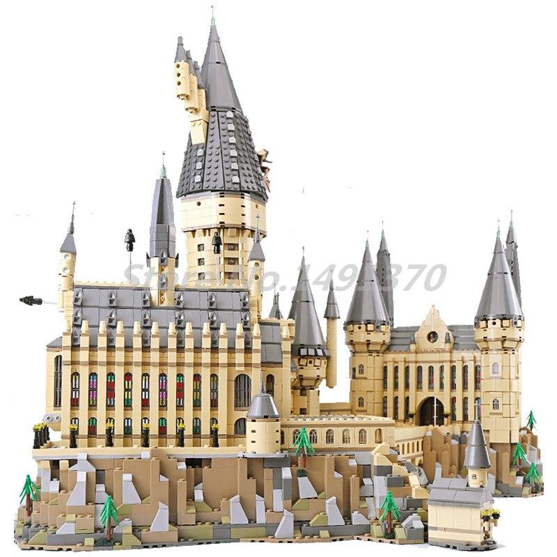 Le Harry Film Série Potter Blocs de Construction Poudlard Château Ensembles Briques 71043 Modèle Jouets Pour Enfants Cadeaux Lepin 16060