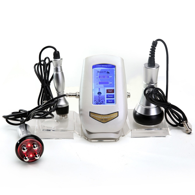 40K Cavitation Ultrasonic Weight Loss Skin Rejuvenation Beauty Machine Multipolar RF Body Slimming Skin Tighten Anti