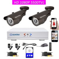 Eyedea 4 CH HDMI AHD DVR 1080P 2 0MP 5500TVL 960P 720P 960H Phone View CMOS