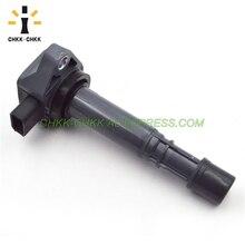 CHKK-CHKK NEW Car Accessory Ignition Coils 30520-PVF-A01 for Honda Pilot 3.5L MDX 3.7L Civic 1.7L Compatible with C1460 UF400 nardi pvf 6ht 48