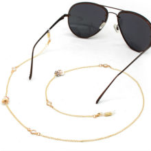 NEW Novelty Natural Small Conch Glasses Chains Women Sunglasses Lanyard Necklace Eyeglass Chain Cord Holder for Reading Glass(China)