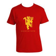 e7f27b10ae0 2018 Manchester United T-shirt Red Devils utd F.C. Premier League Print T  Shirt Men