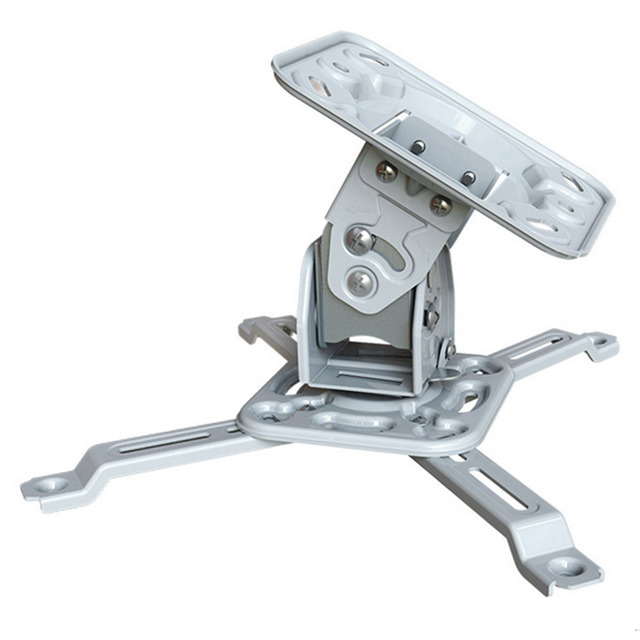 Besegad H120 Universal LCD / DLP / LED Projector Holder Ceiling Mount Loading 11.4KG Roof Projector Bracket Accessories