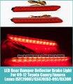 2 * Carro LEVOU Traseiro Lente Vermelha Pára Refletor LED Parar Luz de Freio para 09-12 Toyota Camry/innova Lexus ISF (2008)/GX470 (03-09)/RX300