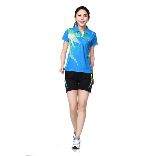 RACE WAY shirts shorts female badminton badminton clothing sportswear  sports suit / casual wear / tennis suit / shirt + shorts