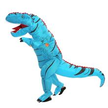Adult Kid T-rex Trex inflatable Dinosaur costume Halloween Costume for Women Men Animal Cosplay Mascot Holiday Party Fantasia