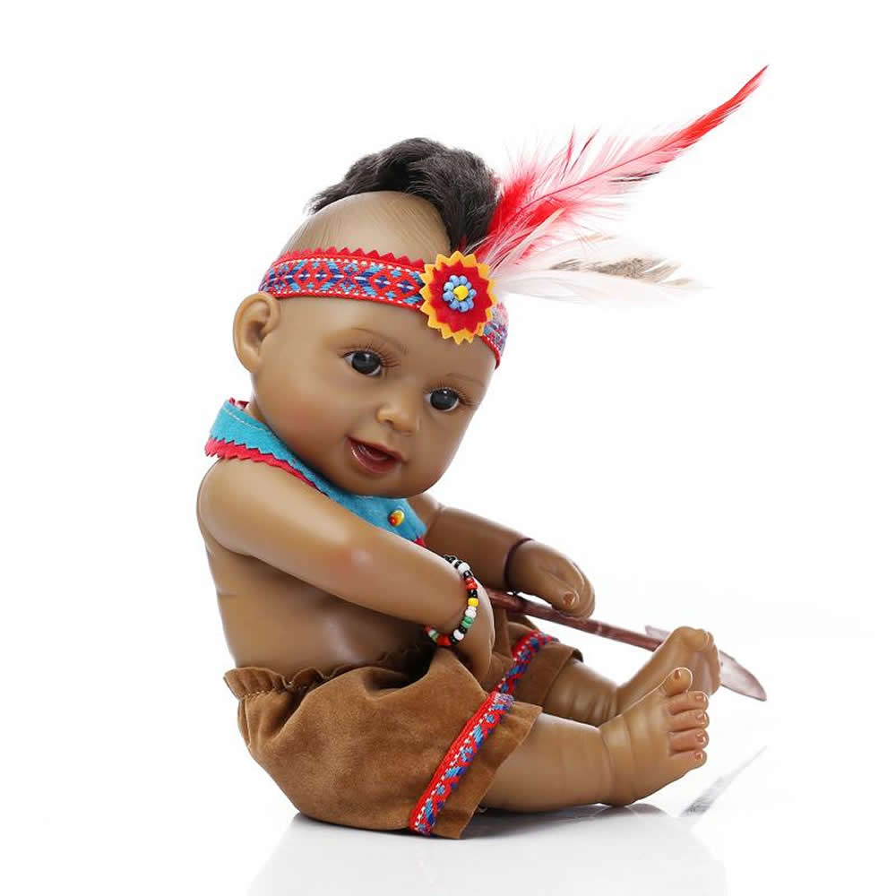 【11 Inch Rare Native Native American Indian Realistic