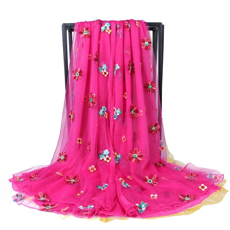 Bromista de la manera de la Bufanda de Seda de Las Mujeres Marca de Lujo de