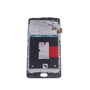 Image 2 - Pantalla AMOLED de 5,5 pulgadas para Oneplus 3T, A3010, Oneplus 3, A3000, A3003, piezas de reparación de pantalla LCD Digitalizador de pantalla táctil con marco