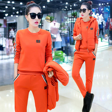 YICIYA tracksuits for women outfits sportswear two 3 piece set plus size pant suits top winter warm thicking cashmere clothing