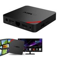 Mini MX + Android RAM 1 GB ROM 8 GB TV Kutusu Amlogic S905X Quad Core 2.4 GHz ile Destek DLNA Airplay TV Kutuları WiFi