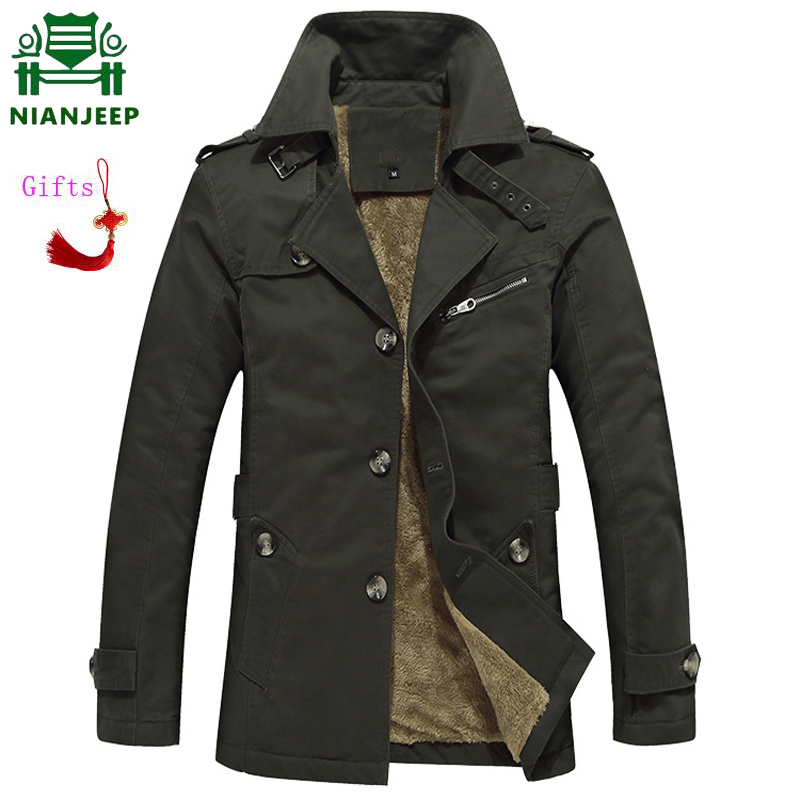 2018 Autumn Mens Jackets Classic Style Trench coat Men Solid Loose Long Jackets and Coats casaco masculino Male Plus Size M 5XL