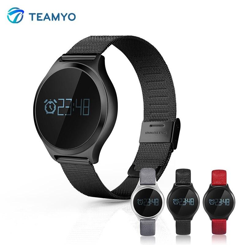 Teamyo M7 Coeur de La Pression Artérielle Moniteur de Fréquence Montre Smart Watch Podomètre Bluetooth Smat Bracelet Pour Android iOS