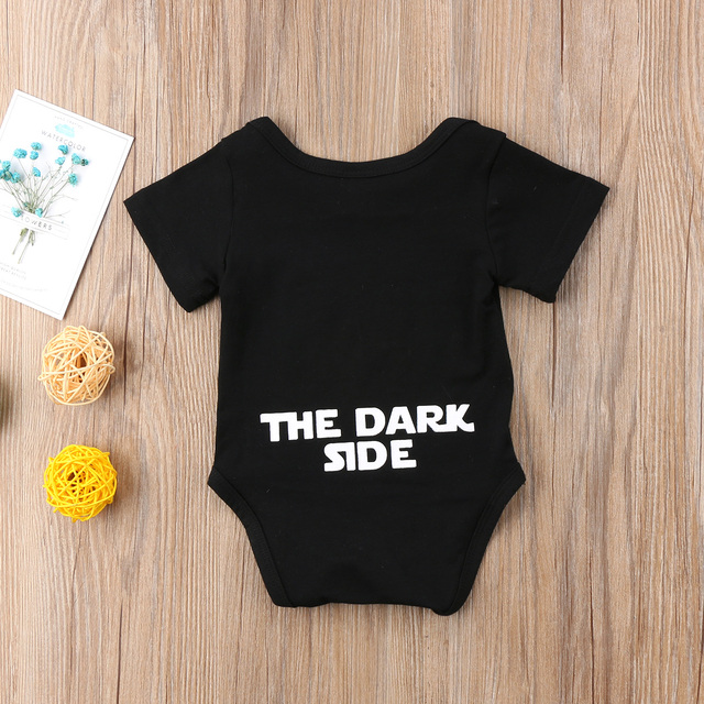 Infant Newborn Baby Boy Girl Cartoon Funny Short Sleeve  Romper Clothes Outfit  Baby Clothing 4