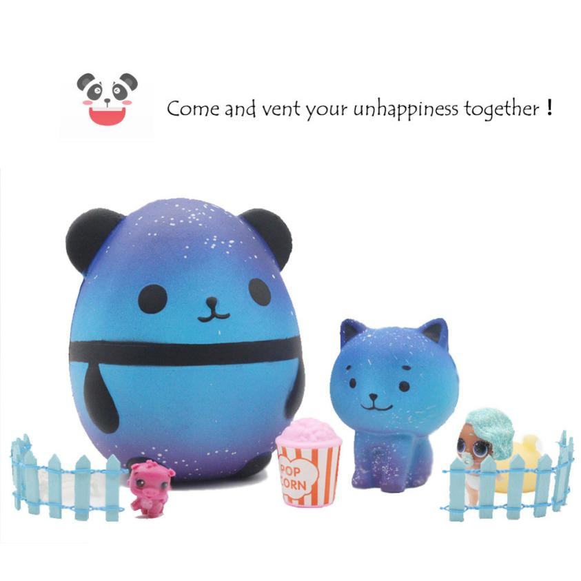 Stress Relief Toy Big Size Squeeze Squishy Toys Galaxy Panda Scented Slow Rising Squishy Gadgets Anti Stress Relief Toys Children Gift Slime Toys Squeeze Toys