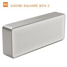 Original Xiaomi Square Box Speaker 2 Pencil Box Xiaomi Bluetooth 4.2 Speaker Stereo Portable High Definition Sound Quality