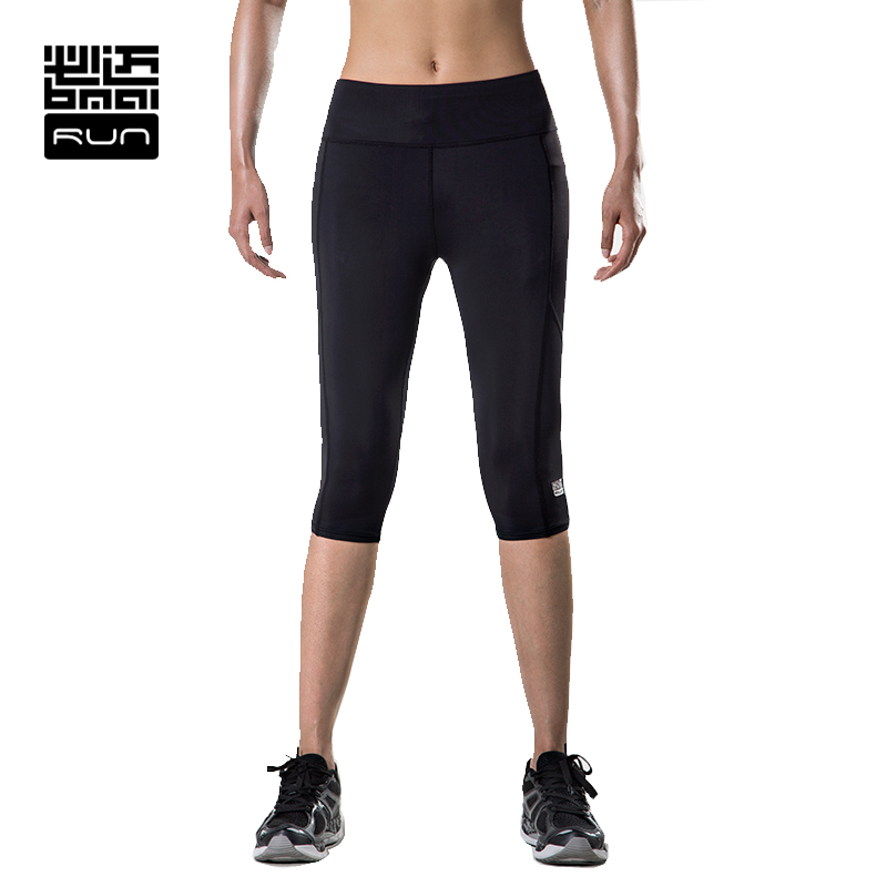ФОТО BMAI Woman Running Tight Breathable Mesh  Running Shorts Comfortable Extra Size Woman Pants#FRLB002