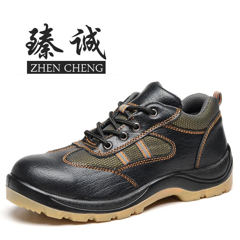 Online Get Cheap Steel Toe Work Shoes Men -Aliexpress.com ...