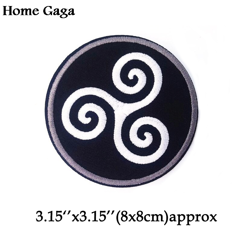 Homegaga Teen Wolf Applique patches Punk stickers sewing bag jersey clothing para DIY jacket badges iron on t-shirt D0688