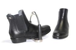 Aoud Saddley/сапоги для верховой езды, кожаные сапоги для верховой езды, высокое качество, Классическая обувь на молнии сзади для мужчин, женщин и