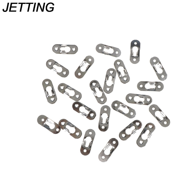 20pcs Picture hangers Metal Keyhole Hanger Fasteners For Photo Frame ...