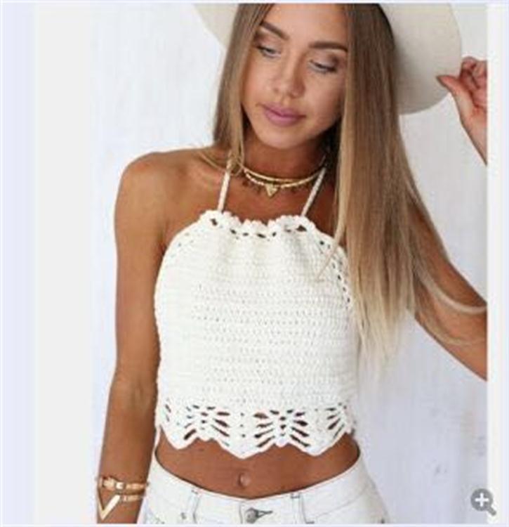Online Shop Bandeau Bikini Handmade Crochet Swimsuit Summer Dress ...