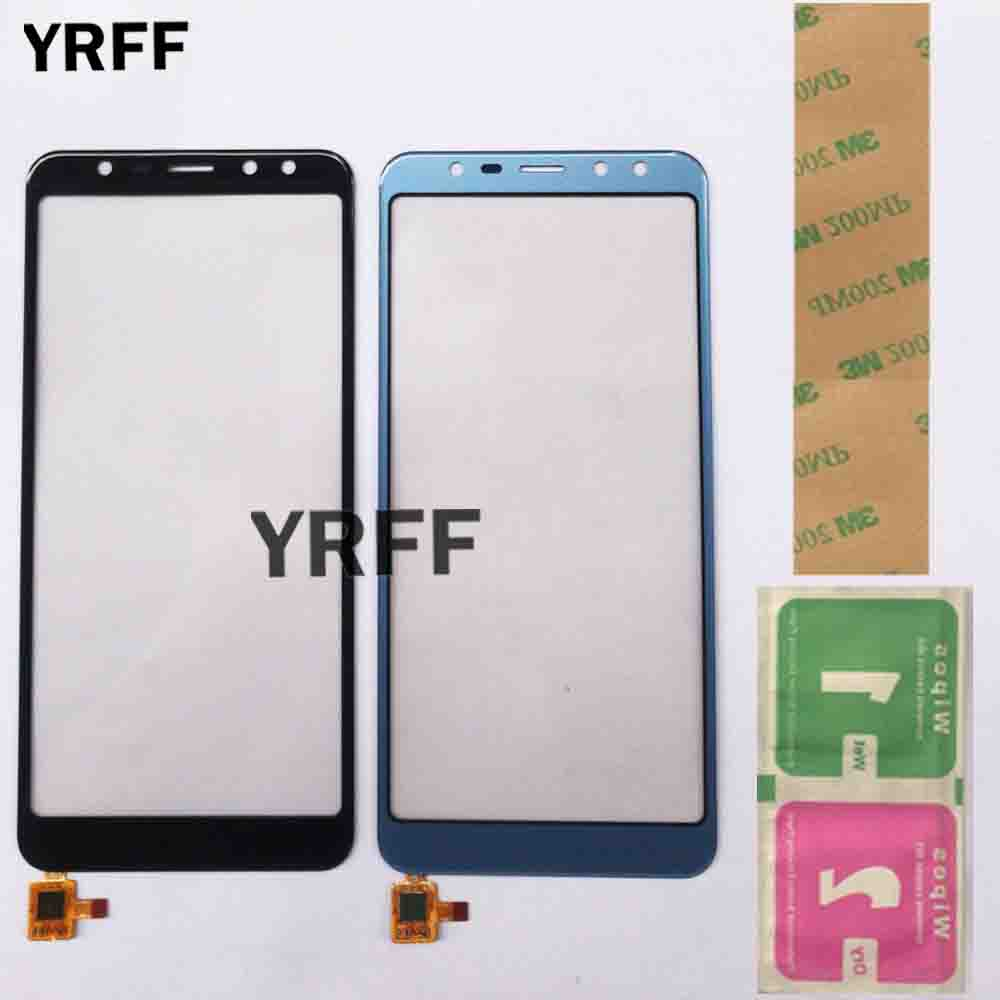 5.5'' Mobile Phone Touch Sensor Glass TouchScreen For Leagoo M9 Touch Screen Front Glass Digitizer Panel Lens Adhesive Wipes