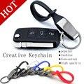 Free Shipping New Menu Titanium Key Chain Car Ring Keychain Keyring Keyfob Creative for Truck motorcycle Keychain