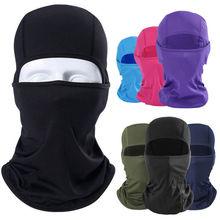Обертывания на открытом воздухе мотоциклетная маска для лица Балаклава Лыжная защита шеи черные модные обертывания