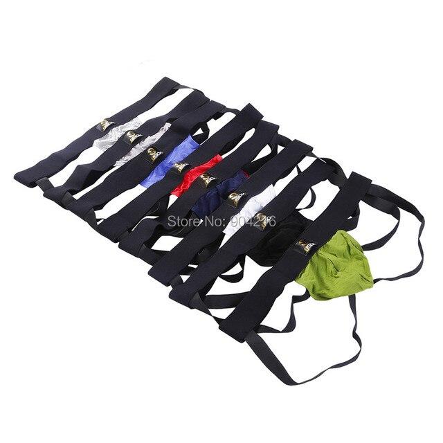8PCS/Lot Sexy Mens Jockstrap Briefs Thong G-string Back Hole Modal Gay Underwear Comfortable T-back M L XL Free Shipping